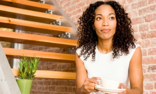 black-woman-coffee-thinking