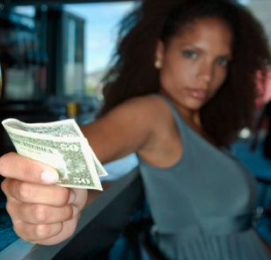 black-woman-holding-money