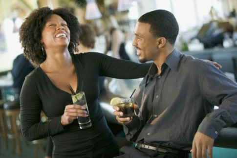 black-couple-laughing-