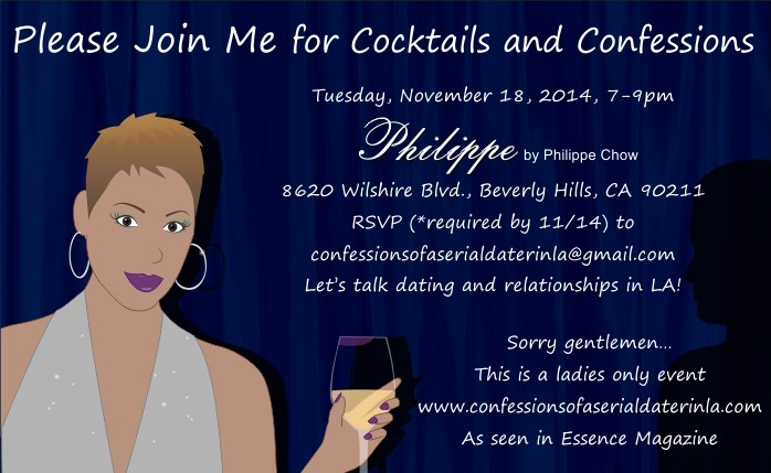 Cocktails and Confessions- Invite