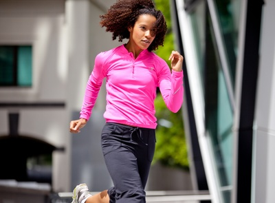 Female Runner in London