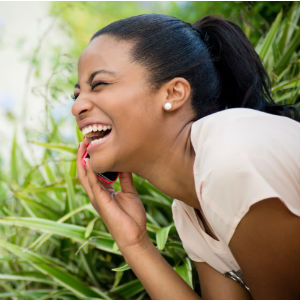 black-woman-laughing
